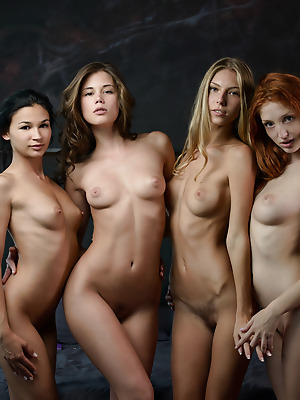 X-Art  Caprice, Angelica, Keira, The Red Fox  Model