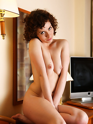 avErotica  Renata  Pussy, Amateur, Curly, Erotic, Teens, Shaved, Solo